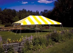 Where to rent CANOPY 20X30 YELLOW   WHITE in South St. Paul MN