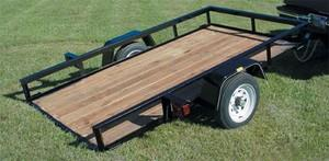 Where to find TRAILER GARDEN 4  X 8 TILT BED in South St. Paul