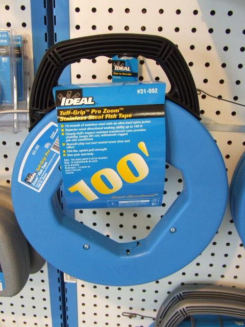 FISH TAPE ELE.WIRE PULLER 100 FOOT Rental South St. Paul MN, Rent ...