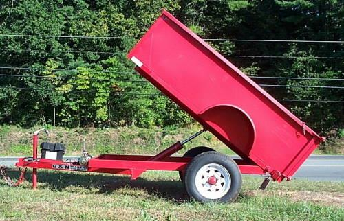 Where to find TRAILER HYDRAULIC DUMP 4  X 8 in South St. Paul