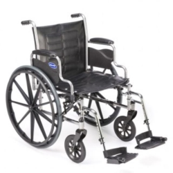 Where to rent WHEELCHAIR 18  WIDE W FOOTREST in South St. Paul MN