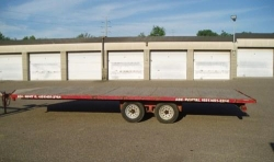 Where to rent TRAILER 8 1  X 20  FLATBED in South St. Paul MN