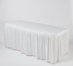 Where to rent KWIK-SKIRT 8FT.BANQUET WHITE in South St. Paul MN