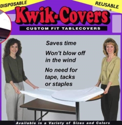 Rental store for KWIK-COVER 8FT.BANQUET BLUE in South St. Paul MN