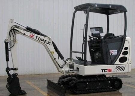 Where to find EXCAVATOR, MINI BACKHOE TEREX TC16 in South St. Paul