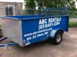 Where to rent TRAILER 6  X 10  OPEN W RAMP in South St. Paul MN