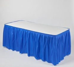 Where to rent KWIK-SKIRT 6FT.BANQUET BLUE in South St. Paul MN