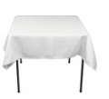 Where to rent LINEN, BLACK TABLECLOTH 72  X 72 in South St. Paul MN
