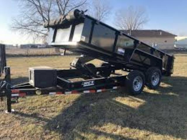 Where to find TRAILER HYDRAULIC DUMP 6 X12  TANDEM in South St. Paul