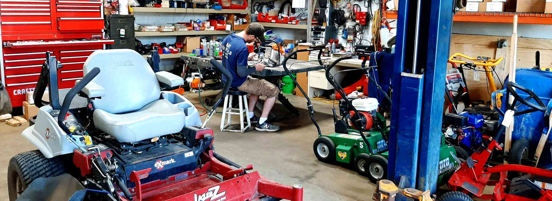Get your Equipment Serviced or Repaired in South St. Paul MN, St. Paul, Eagan, West St. Paul, Inver Grove Heights, Woodbury, Cottage Grove MN